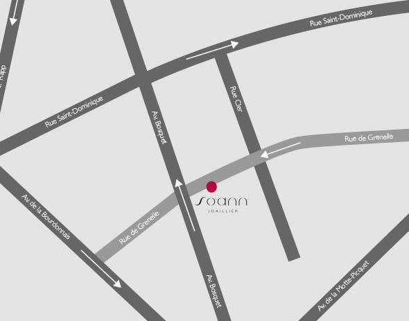 Soann Joaillier, 175 rue de Grenelle, 75007 Paris