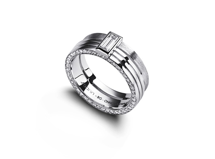 BAGUE HOMME MMXV